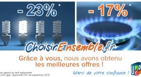 Energie moins chère ensemble:  500 000 euros de pouvoir d'achat d'économiséspar les habitants du Grand Lyon et du Rhône!