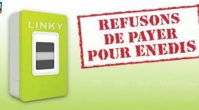 Signez la pétition «LINKY: refusons de payer pour Enedis»