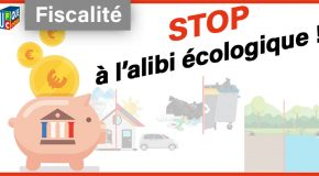 Refusons une fiscalité environnementale punitive visant simplement à lever davantage de recettes pour l'Etat !